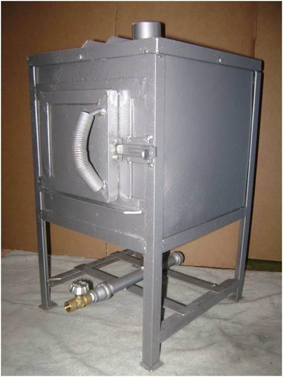 Horno de gas dental